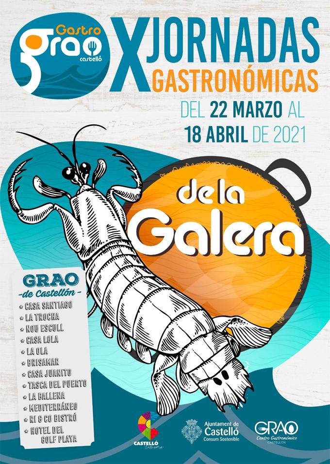 X Jornadas Gastronómicas de la Galera en el Grao de Castellón